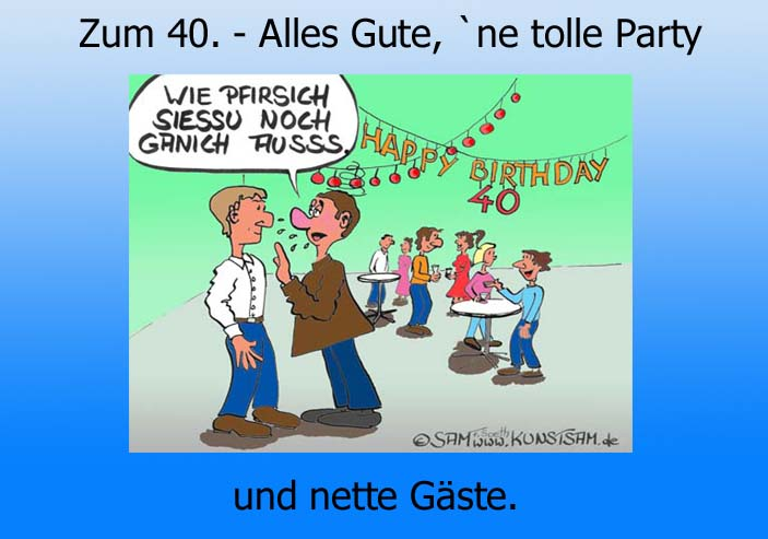 Gluckwunsche Zum 40 Geburtstag C Geburtstagswuensche Wiki
