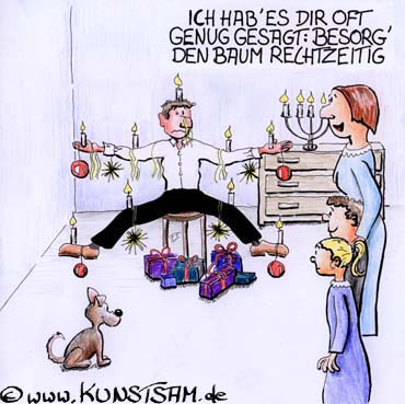 Cartoon Weihnachten
