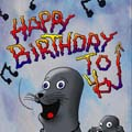 Happy Birthday Cartoon